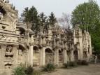 Palais idéal du Facteur Cheval, Hauterives, Drôme, France. Façade Ouest.