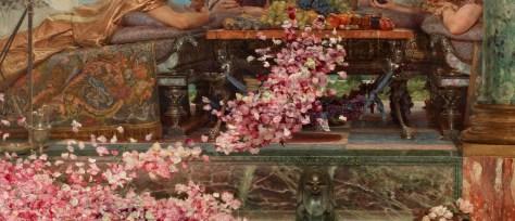 Le tableau de Lawrence Alma-Tadema regorge de détails d'un réalisme étonnant.