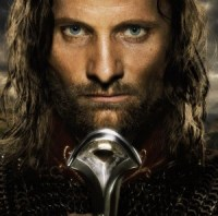 Aragorn, joué par Viggo Mortensen.