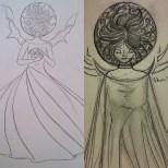 La Fée Electricité (The Electricity Fairy) : Avant/Après