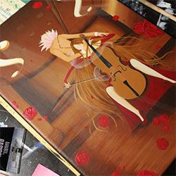 Peinture : La Violoncelliste