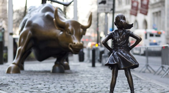 Charging Bull, Fearless Girl et Pissing Pug : Artception à Wall Street