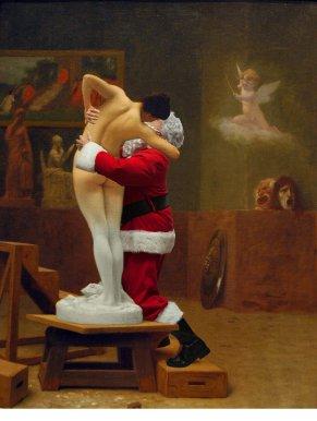 Ed Wheeler revisite une toile de Gérôme.