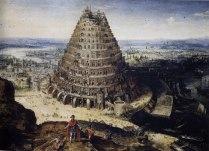 La tour de Babel peinte en 1594 par Lucas van Valckenborch.