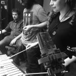 stephanie alex kevin recording session