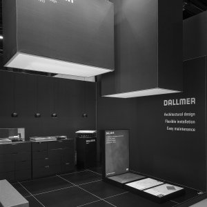 dallmer stand • interieur kortrijk 2018 • for A&B Project