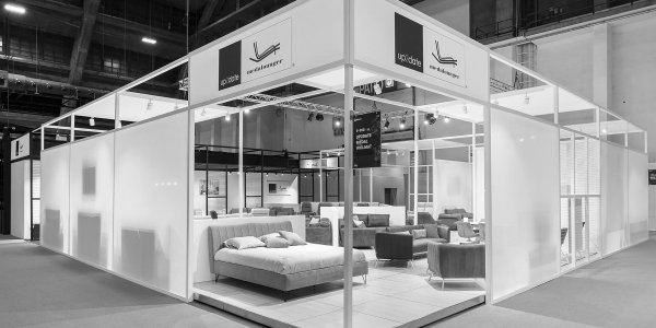 Up2date stand • furniture fair 2018 • for A&B Project