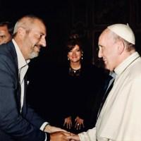Udienza privata da Papa Francesco in Vaticano
