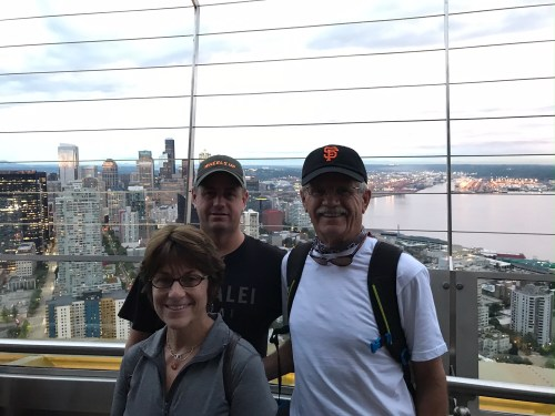 All of us at the Seattle Space Needle