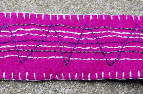 fiber bracelet armband wol