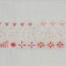 embroidery detached chain stitch borduren losse kettingsteek