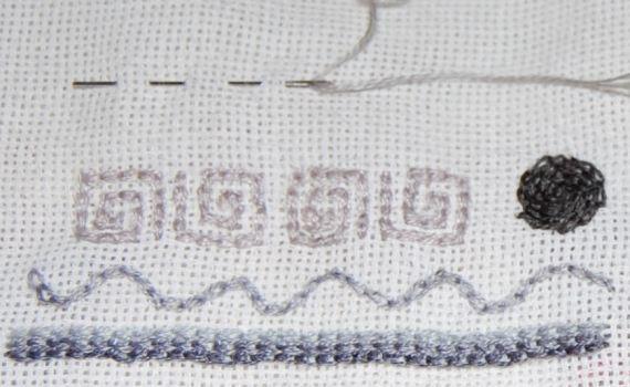 kettingsteek (chain stitch) door studio paars