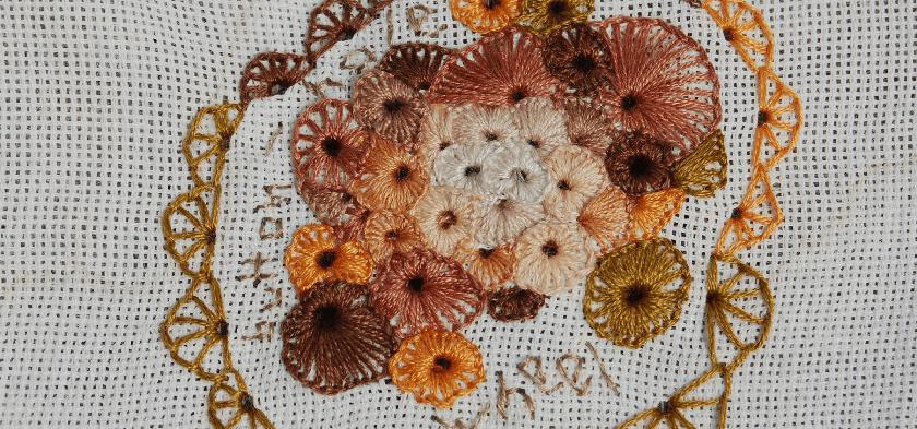 embroidery buttonhole wheel borduren