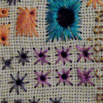 TAST 2012 #31: Algerian Eye Stitch
