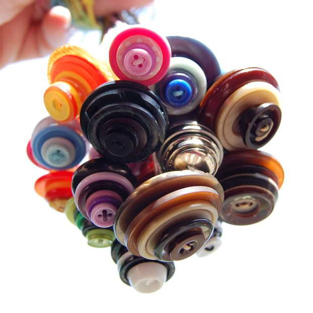 Studio Paars - vintage button crafts