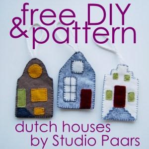 Studio Paars - hollandse huisjes / dutch houses