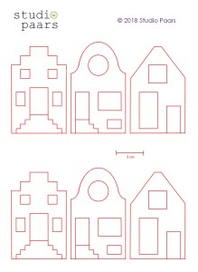 Studio Paars - hollandse huisjes / dutch houses