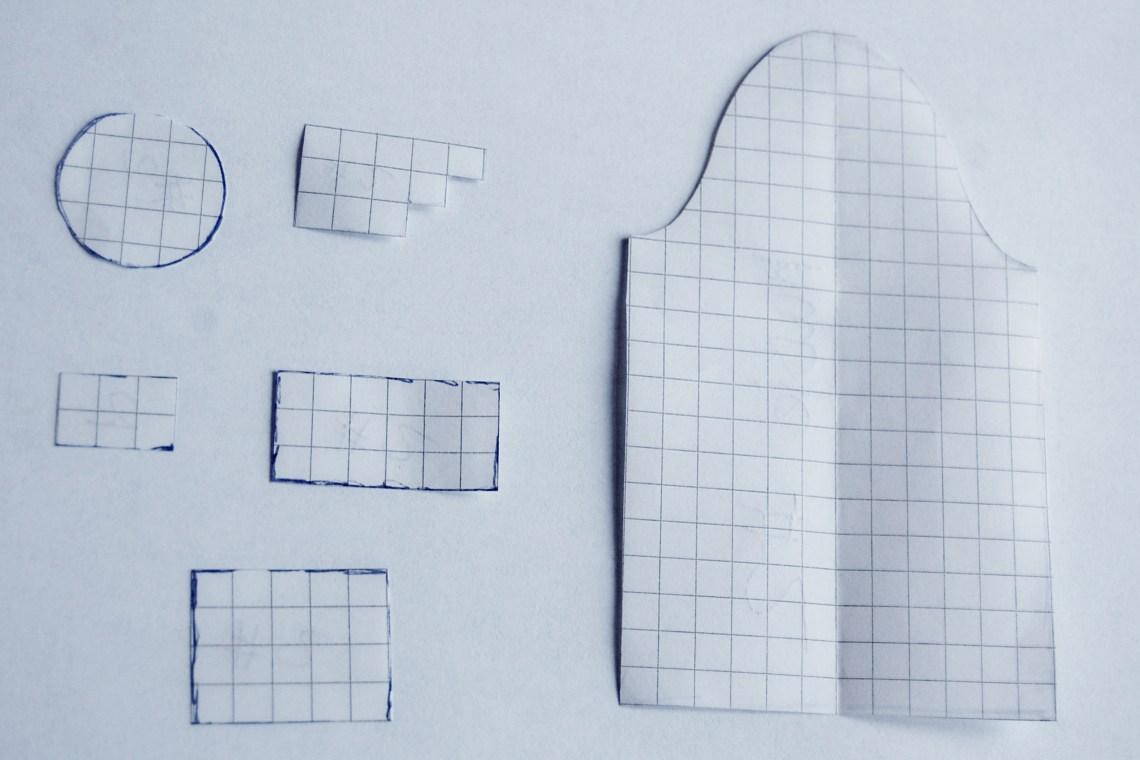 patroondelen van de hollandse huisjes van studio paars