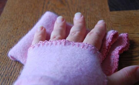 polswarmers van een oude wollen trui door studio paars