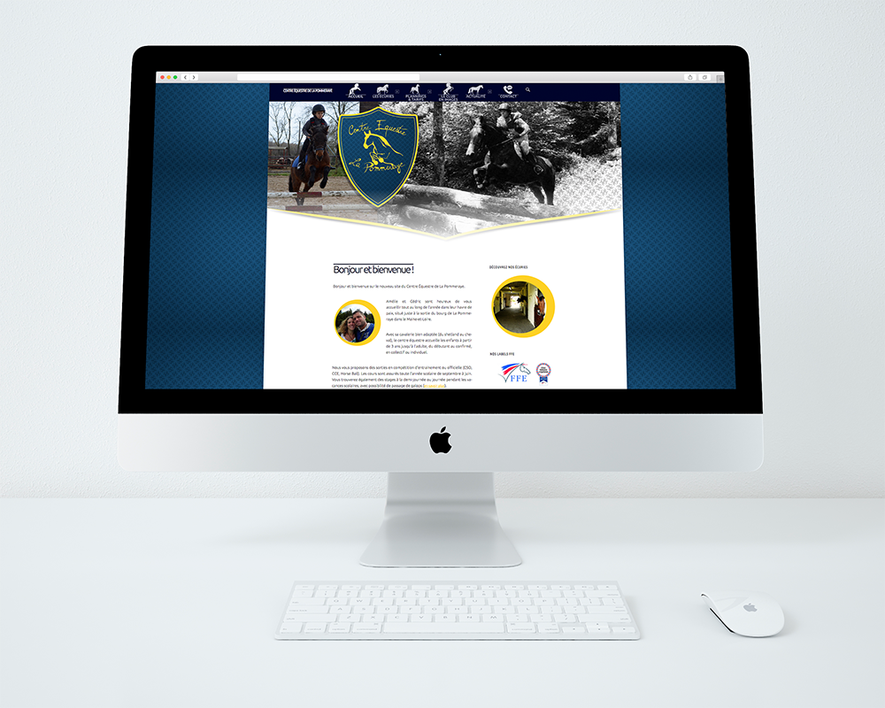 Site web Centre Equestre