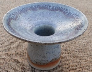 Eric James Mellon flared vessel, signed and dated 1968. The height is 8.4 cm (3.3 inches). Price: £95