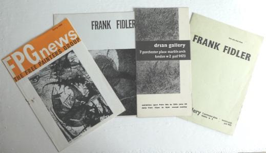 Frank Fidler exhibition catalogues