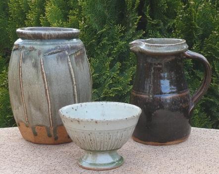 Richard Batterham stoneware