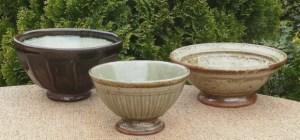 Richard Batterham stoneware bowls