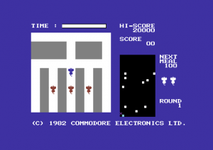 Radar Rat Race - C64 (Commodore, 1982)