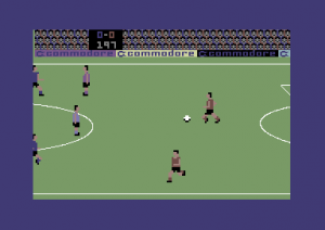 International Soccer - C64 (Commodore, 1983)