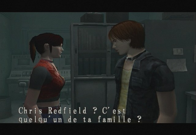 Resident Evil : Code Veronica X - Playstation 2 (Capcom, 2001)