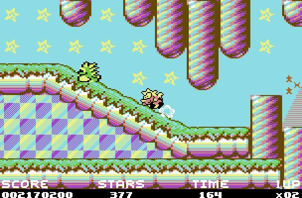 Mayhem in monsterland - WII/C64 (Apex, 1993)