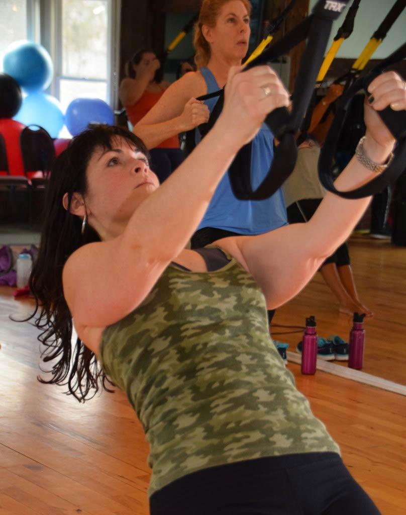TRX workout class Stowe
