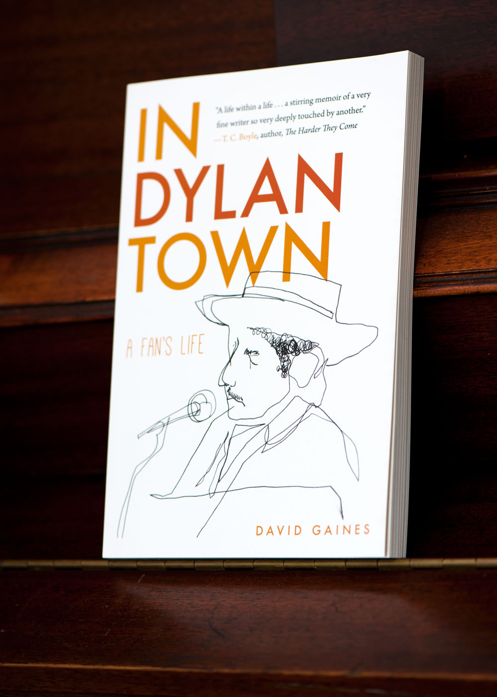 In Dylan Town Cover | Greg Betza