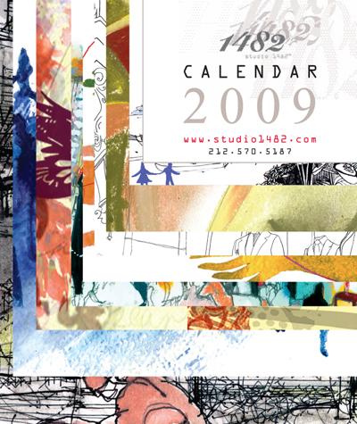 Studio1482 2009 calendar cover