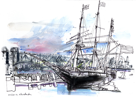 Charles W. Morgan sails again | Veronica Lawlor