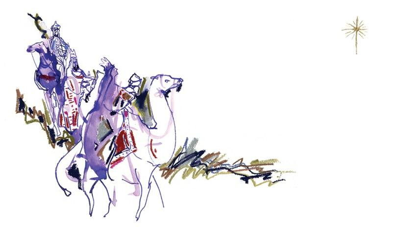 """We Three Kings"" by Dominick Santise"