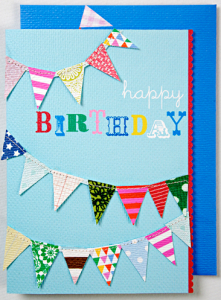 meri meri birthday card