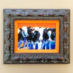 Custom Framing // Cow by Janis Fitch // Studio 3