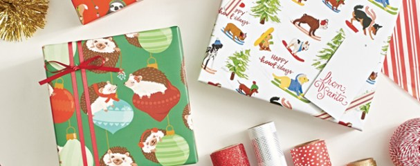 Studio 3 Holiday Gift Wrap