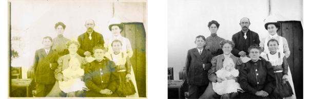Studio 3 Framing Photo Restoration Services // Downingtown PA