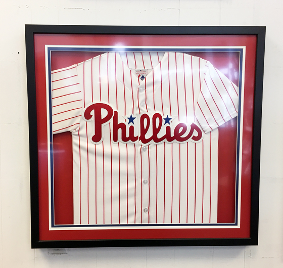 Studio 3 Custom Framing // Jersey Framing