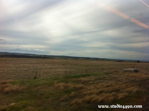 Another view from a train