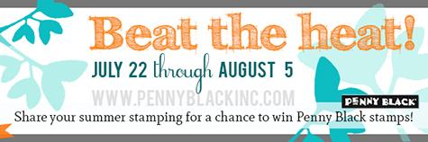 "Penny Black ""Beat the Heat"" Challenge"