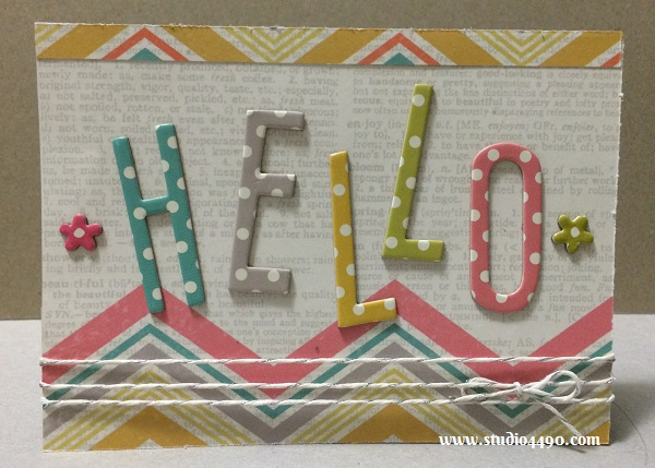 Hello! Materials used: Designer Papers from Simple Stories; Chipboard Stickers - Vintage Bliss (Simple Stories); Lawn Trimmings (Lawn Fawn).