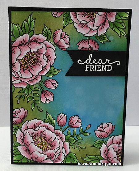 Happiest of Birthdays to You Materials used: Stamps - Birthday Blooms (Stampin' Up!); Punch - Triple Banner (Stampin' Up!); Distress Inks and Copic Markers.