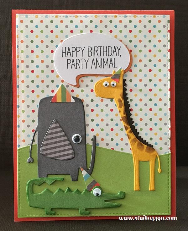 Happy Birthday Party Animal
