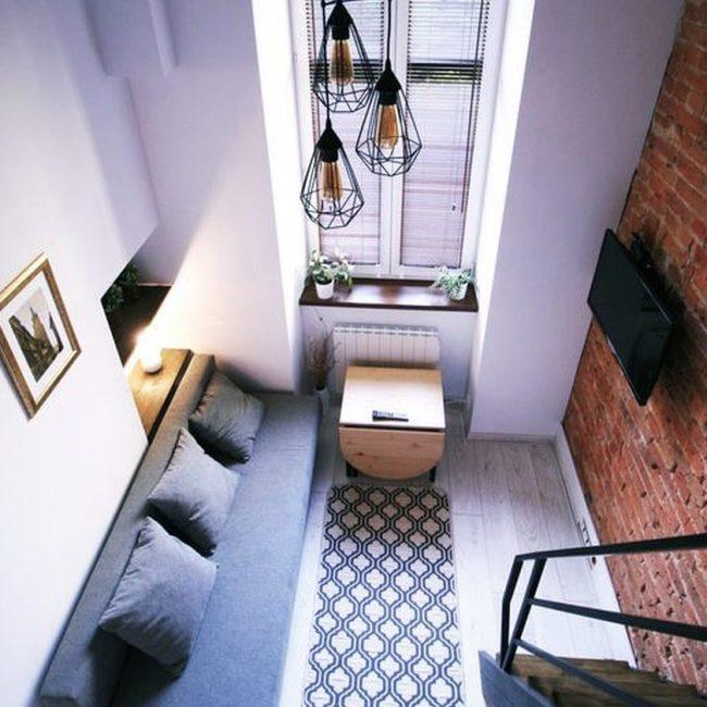 Апартамент в Кракове 16 м2