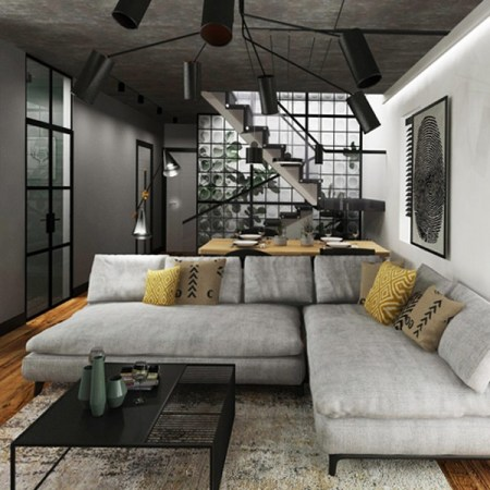 Дизайн дома в Модлинице