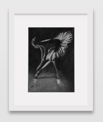 Framed Ballet Prints